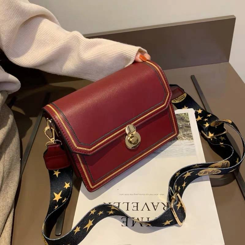 酷博斯顿女包包2019新款韩版时尚百搭小包女士斜挎包风琴单肩女包,包邮到家。