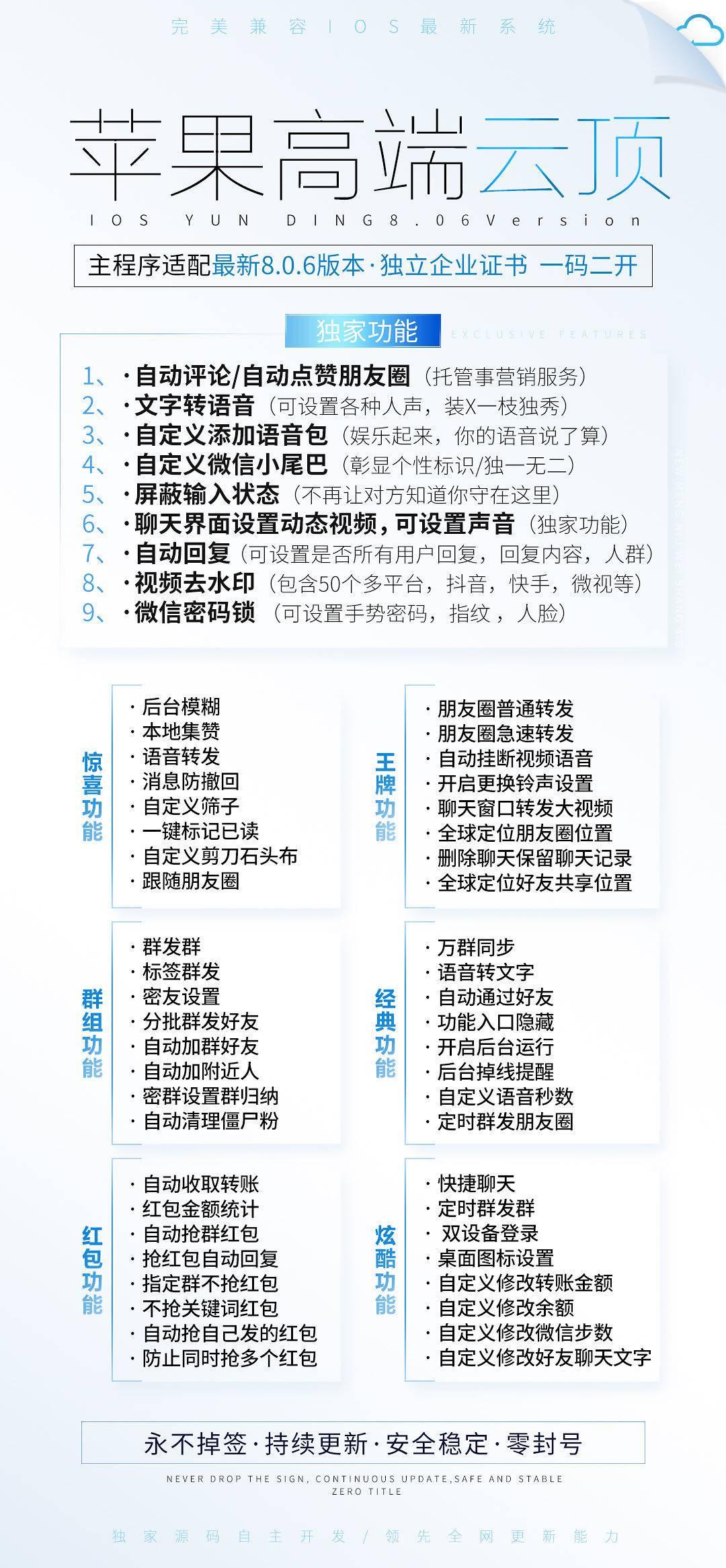 【苹果多开】云顶(高端企业证书版云微)