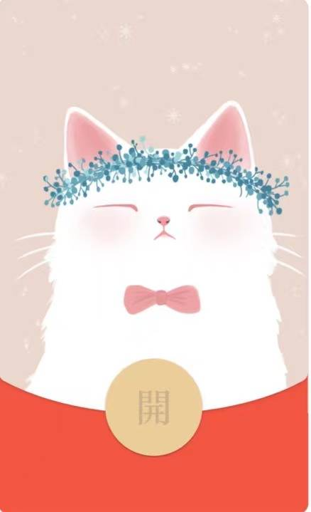 白猫猫(购买表情包赠封面皮肤)